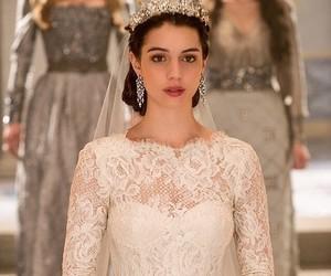 reign, adelaide kane, and wedding image