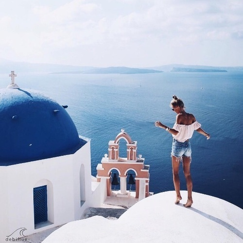 Greece, summer, and blue image