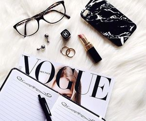 vogue, style, and magazine image