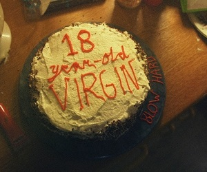 cake and virgin image