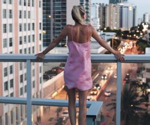 aesthetic, blonde, and bridge image