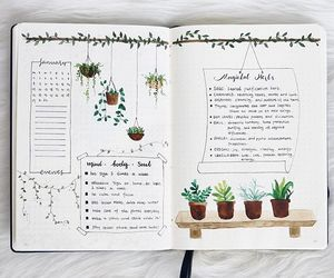 bujo, bullet journal, and journaling image
