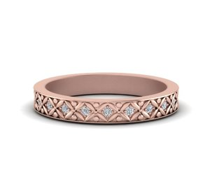 diamond rings online, rose gold rings, and popular engagement rings image