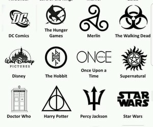 disney, hp, and thg image