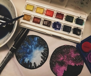art, astronomy, and beautiful image
