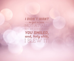 bokeh, easel, and love quotes image