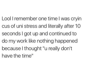 funny, school, and stress image