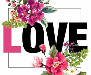 flores and I Love You image