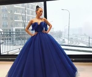dress, fashion, and ls image