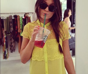 kylie jenner, starbucks, and jenner image