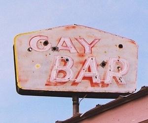 gay, pink, and gay bar image