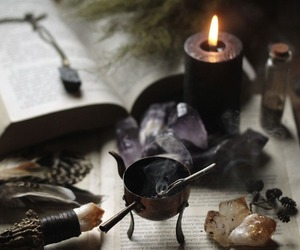 witch, witchcraft, and aesthetic image