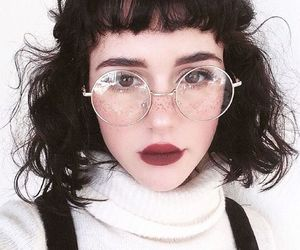girl, glasses, and cute image