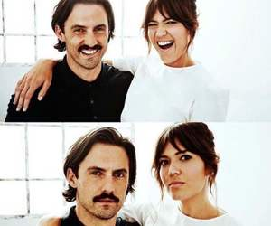 couple, mandy moore, and serie image