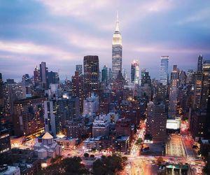 buildings, manhattan, and new york city image