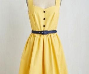 dress, original, and yellow image