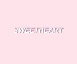 headers, pink, and sweet image