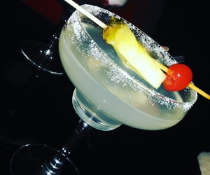 cocktail, margarita, and night vibes image