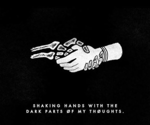 twenty one pilots, quotes, and dark image