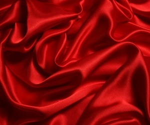 red, silk, and aesthetic image