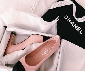 chanel, shoes, and pink image