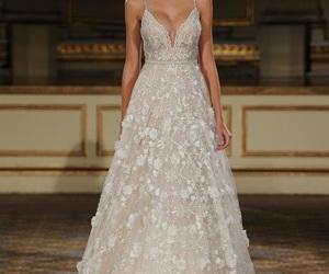 wedding dress, dress, and berta image