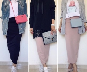 bag, casual, and dressing image