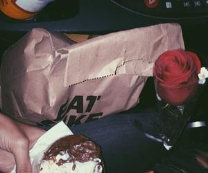 boyfriend, car, and food image
