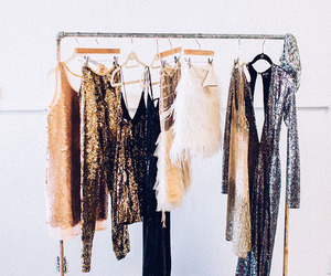 clothes, fashion, and sparkle image
