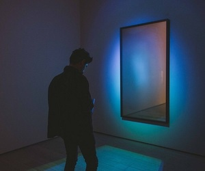 boy, grunge, and blue image