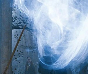 harry potter, patronus, and hogwarts image