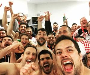 handball, Croatia, and european championship image