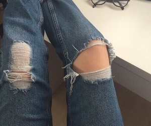 jeans, aesthetic, and grunge image