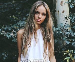 model, inka williams, and girl image