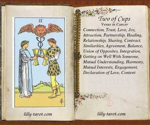tarot and love image