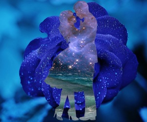 beautiful, blue, and creative image