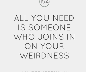 quote and weirdness image