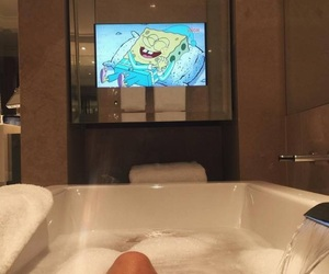 luxury, spongebob, and bath image