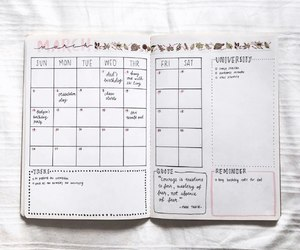 planner and study image