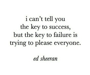 ed sheeran, quotes, and success image