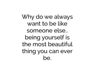 be yourself, beautiful, and motivation image