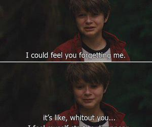 sad, quotes, and forget image