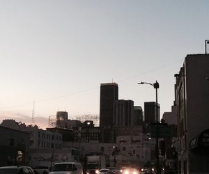 downtown, los angeles, and vacation image