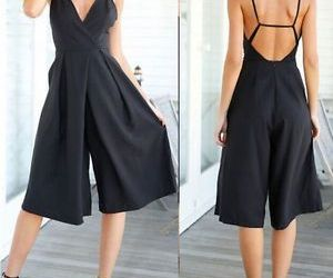 backless, black, and chic image