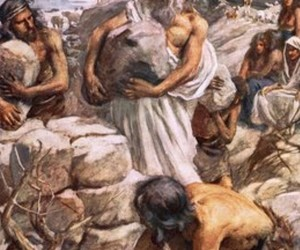 noah, harold copping, and burnt offering image
