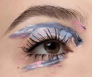 aesthetic, eye, and art image