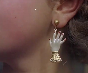 aesthetic, art, and ear ring image