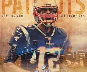 New England Patriots, NFL, and super bowl image