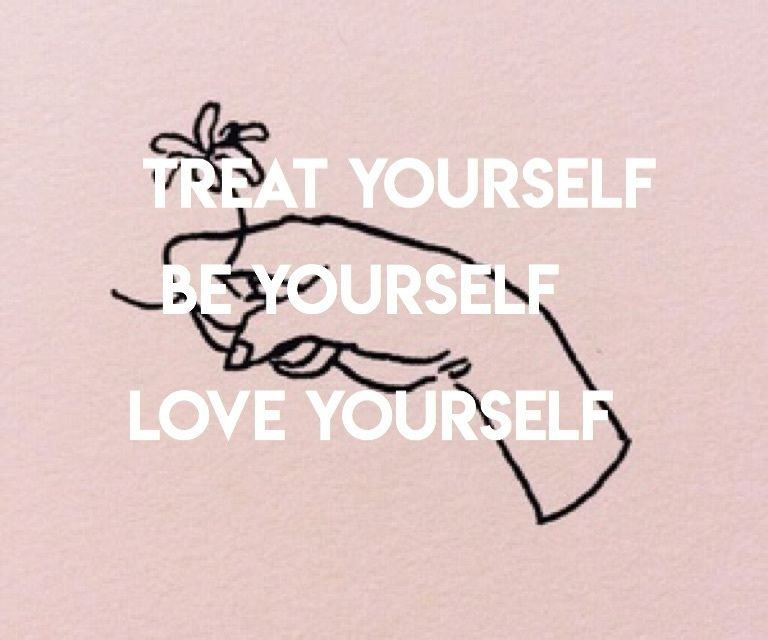 be yourself, rose, and rose gold image
