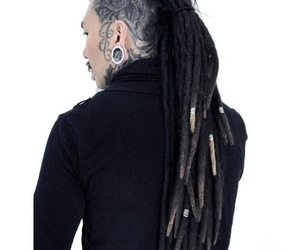 asian, handsome, and locs image
